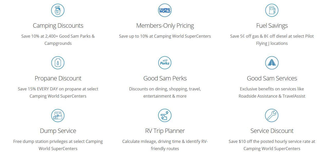 Good Sam Benefits